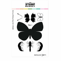 The Stamp Market - Clear Photopolymer Stamps - Papillon