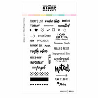 The Stamp Market - Clear Photopolymer Stamps - Plan it
