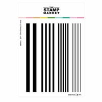 The Stamp Market - Clear Photopolymer Stamps - Striped