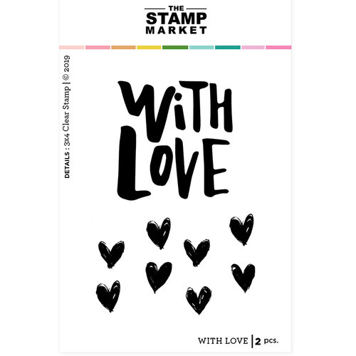 The Stamp Market - Clear Photopolymer Stamps - With Love