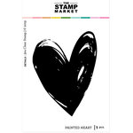 The Stamp Market - Clear Photopolymer Stamps - Painted Heart