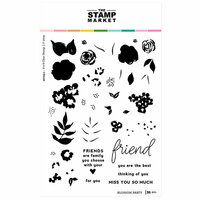 The Stamp Market - Clear Photopolymer Stamps - Blossom Party
