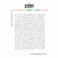 The Stamp Market - Clear Photopolymer Stamps - Confetti Dot