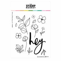 The Stamp Market - Clear Photopolymer Stamps - Bloominous
