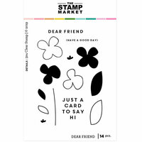 The Stamp Market - Clear Photopolymer Stamps - Dear Friend