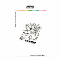 The Stamp Market - Clear Photopolymer Stamps - Bouquet of Kindness