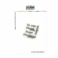 The Stamp Market - Clear Photopolymer Stamps - A Few Words