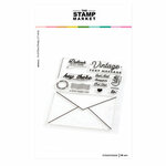 The Stamp Market - Clear Photopolymer Stamps - Stampgram