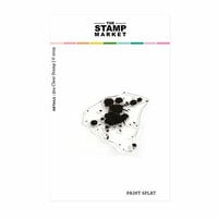 The Stamp Market - Clear Photopolymer Stamps - Paint Splat Background