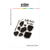 The Stamp Market - Clear Photopolymer Stamps - Fiddle Leaf