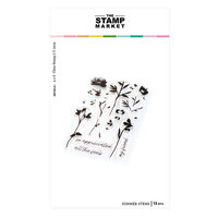 The Stamp Market - Clear Photopolymer Stamps - Summer Stems
