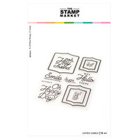 The Stamp Market - Clear Photopolymer Stamps - Lovely Labels