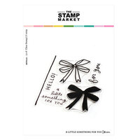 The Stamp Market - Clear Photopolymer Stamps - A Little Something For You