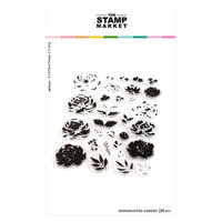 The Stamp Market - Clear Photopolymer Stamps - Handpainted Garden