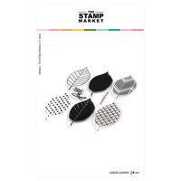 The Stamp Market - Clear Photopolymer Stamps - Large Leaves