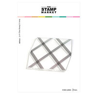 The Stamp Market - Clear Photopolymer Stamps - Fine Lines Background