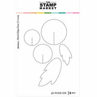 The Stamp Market - Dies - 3D Posie