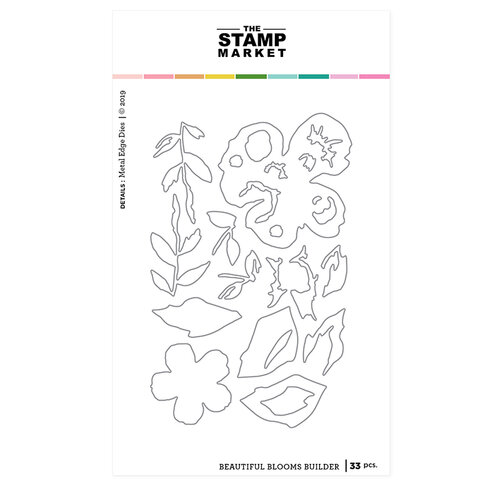 The Stamp Market - Dies - Beautiful Blooms Builder
