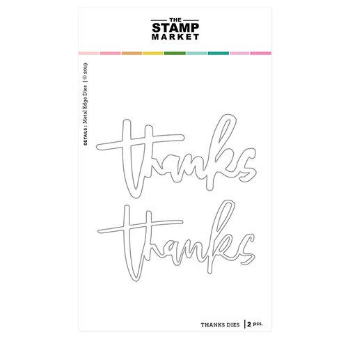 The Stamp Market - Dies - Beyond Grateful Thanks