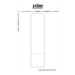 The Stamp Market - Dies - Envelope Label