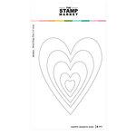 The Stamp Market - Dies - Happy Hearts