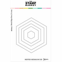The Stamp Market - Dies - Nested Hexagon
