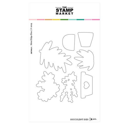 The Stamp Market - Dies - Succulent