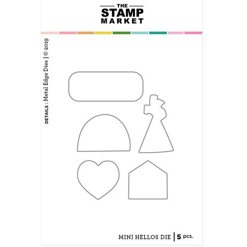 The Stamp Market - Dies - Mini Hellos