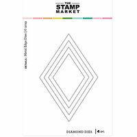 The Stamp Market - Dies - Detailed Diamonds