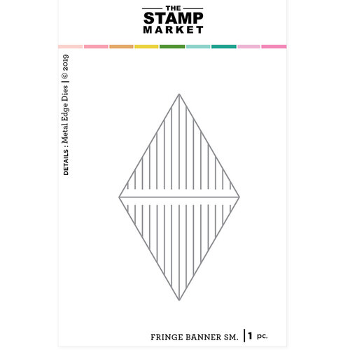 The Stamp Market - Dies - Small Fringe Banner