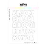 The Stamp Market - Dies - Cookie Alphabet
