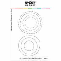The Stamp Market - Dies - Patterned Polka Dot