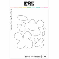 The Stamp Market - Dies - Little Blooms