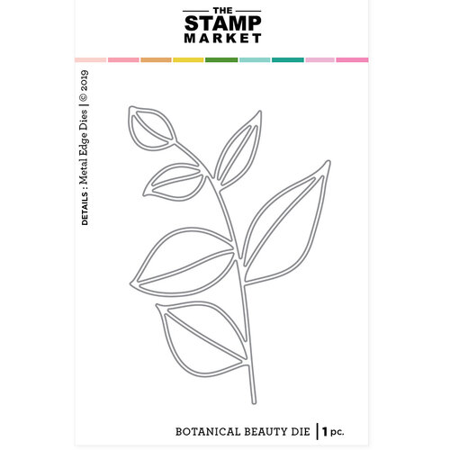 The Stamp Market - Dies - Botanical Beauty