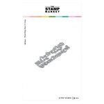 The Stamp Market - Dies - A Few Words
