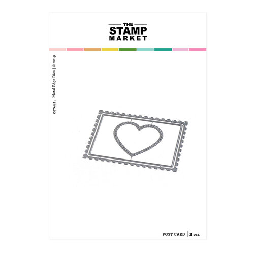 The Stamp Market - Dies - Post Card