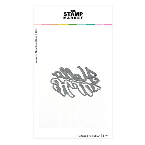 The Stamp Market - Dies - Great Big Hello