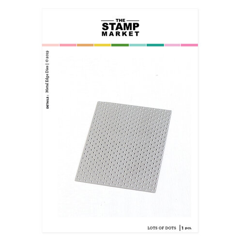 The Stamp Market - Dies - Lots of Dots Cover