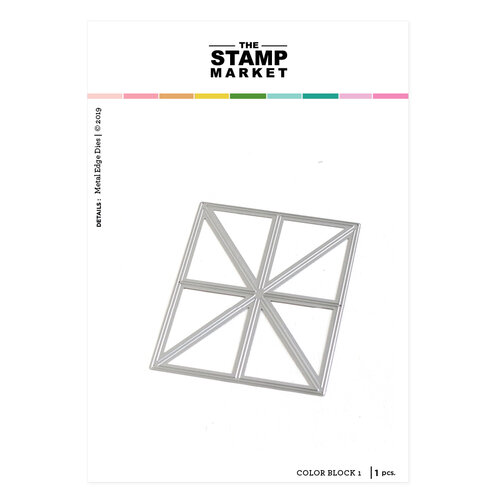 The Stamp Market - Dies - Color Block 1 Cover