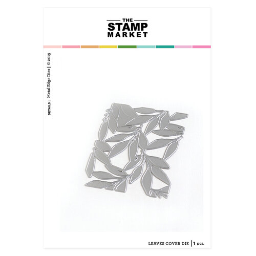 The Stamp Market - Dies - Leaves Cover