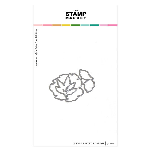 The Stamp Market - Dies - Handpainted Rose