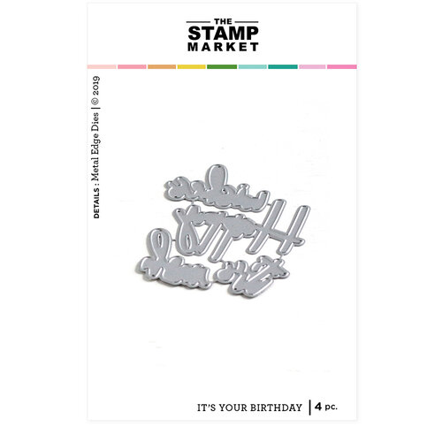 The Stamp Market - Dies - It's Your Birthday
