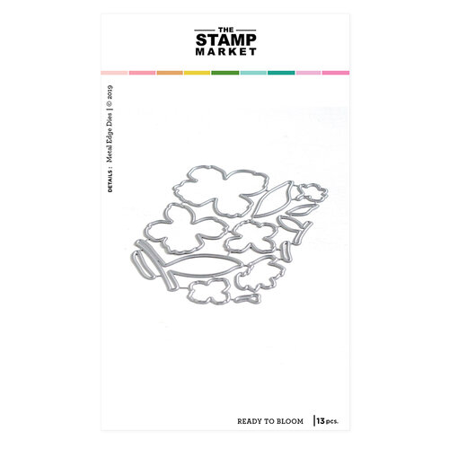 The Stamp Market - Dies - Ready to Bloom