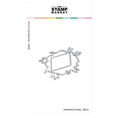 The Stamp Market - Dies - Floral Diamond