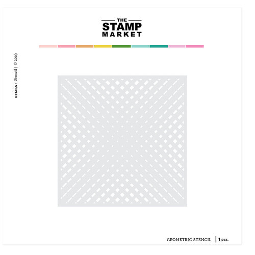 The Stamp Market - Stencils - Geometric
