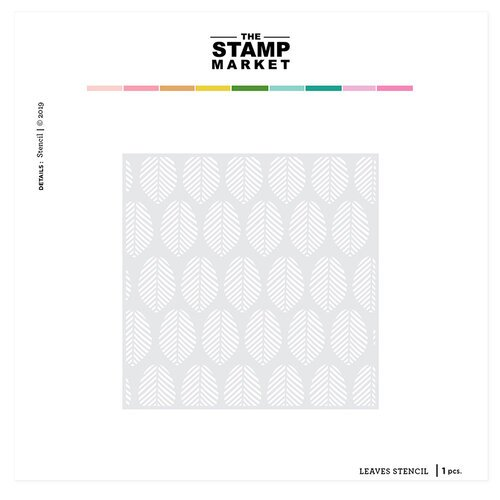The Stamp Market - Stencils - Leaves