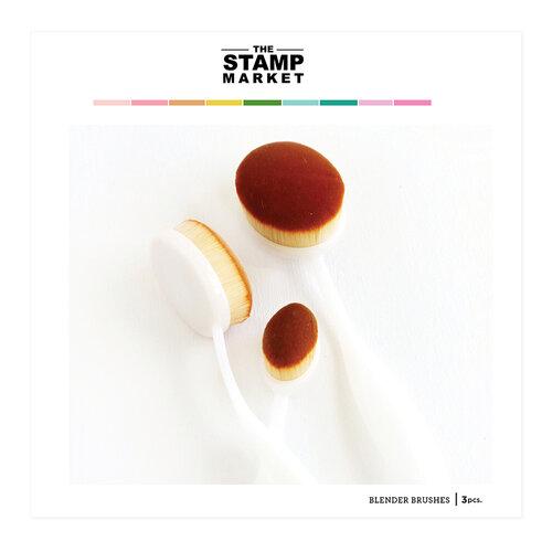 The Stamp Market - Ink Blending Brushes - 3 Pack