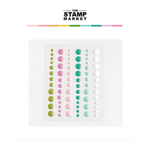 The Stamp Market - Enamel Dots - Collection 2