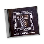 Ten Seconds Studio - A to Z of Metal Works - CD and DVD Set, CLEARANCE