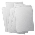 Ten Seconds Studio - 9 x 12 Thin Metal Sheets for Dry Embossing - 25 Pack - Bronzed God